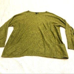 Eileen Fisher organic linen lightweight sweater